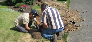 our Cedar Hill Sprinkler Repair team does underground leak repair