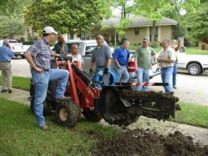 Our Cedar Hill Irrigation Repair team does new installations